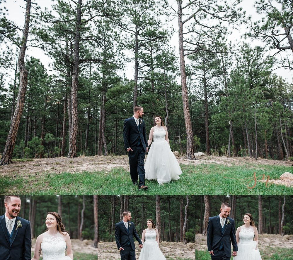 bride-groom-forest-portraits, denver-wedding-photographer