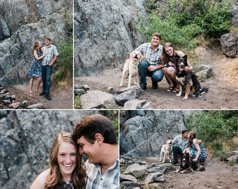 colorado-engagement-session, denver-wedding-photographer, engagement-session-with-dogs