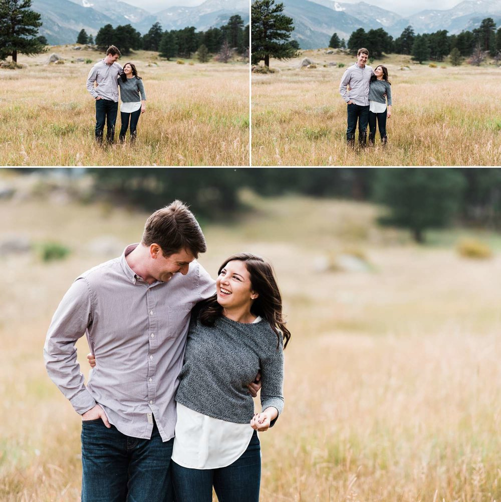 playful-engagement-session, estes-park-portraits, colorado-wedding-photographer