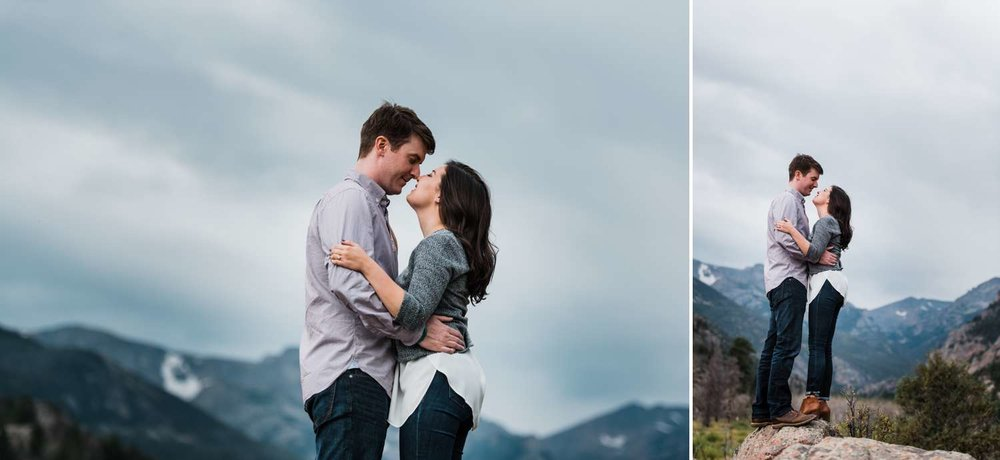 mountain-top-couples-portraits, denver-wedding-photographer, rmnp