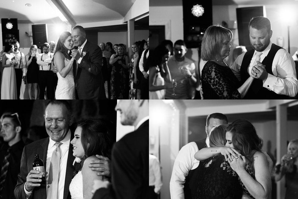 father-daughter-dance, mother-son-dance, moments-in-black-and-white, denver-wedding-photographer