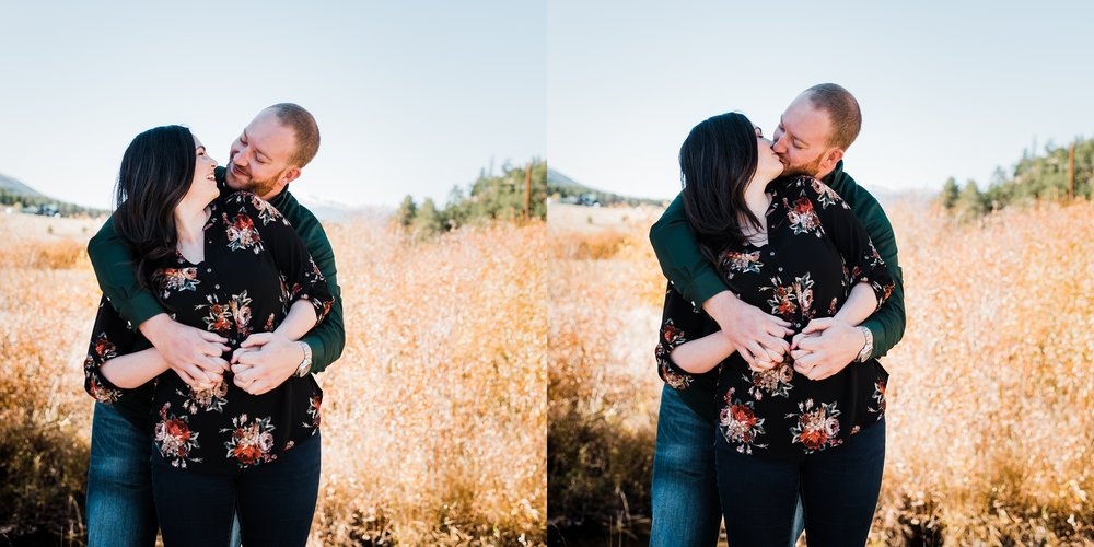 sunny-day-engagement-photos, denver-wedding-photographer, mountains-in-fall