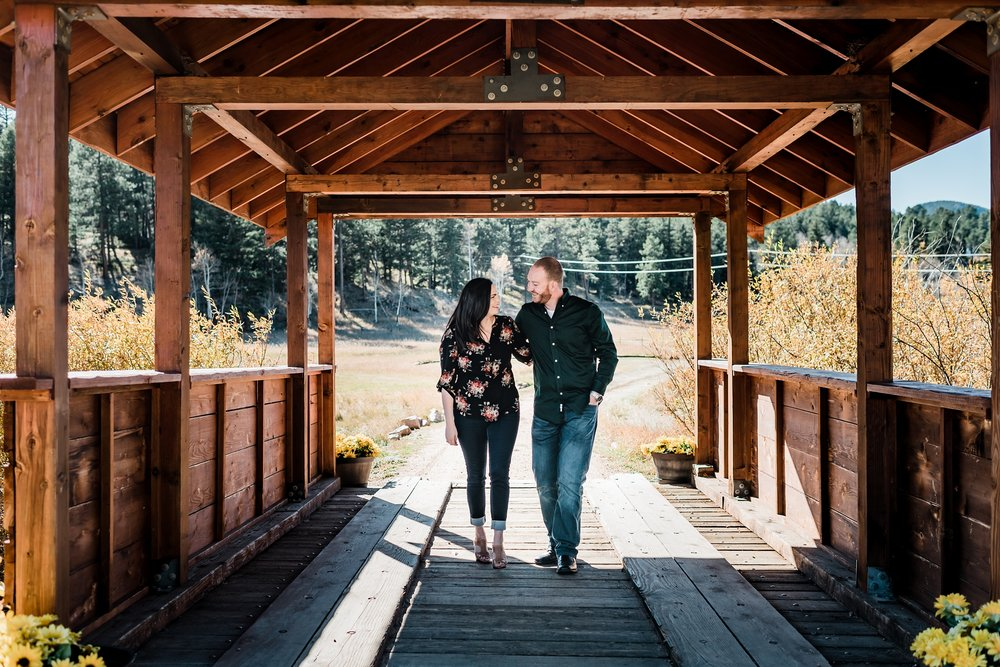 deer-creek-valley-ranch, colorado-wedding-photographer, covered-bridge-engagement-session