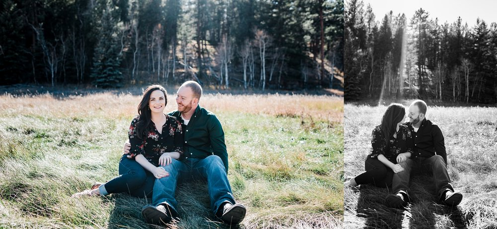 meadow-engagement-session, mountain-portraits, unposed-wedding-photographer, denver-colorado-wedding-photographer