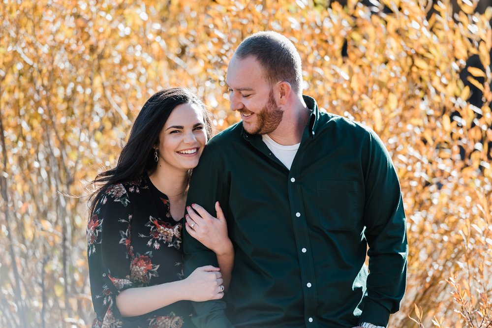 fall-engagement-session, unposed-wedding-photographer, denver-colorado-wedding-photography