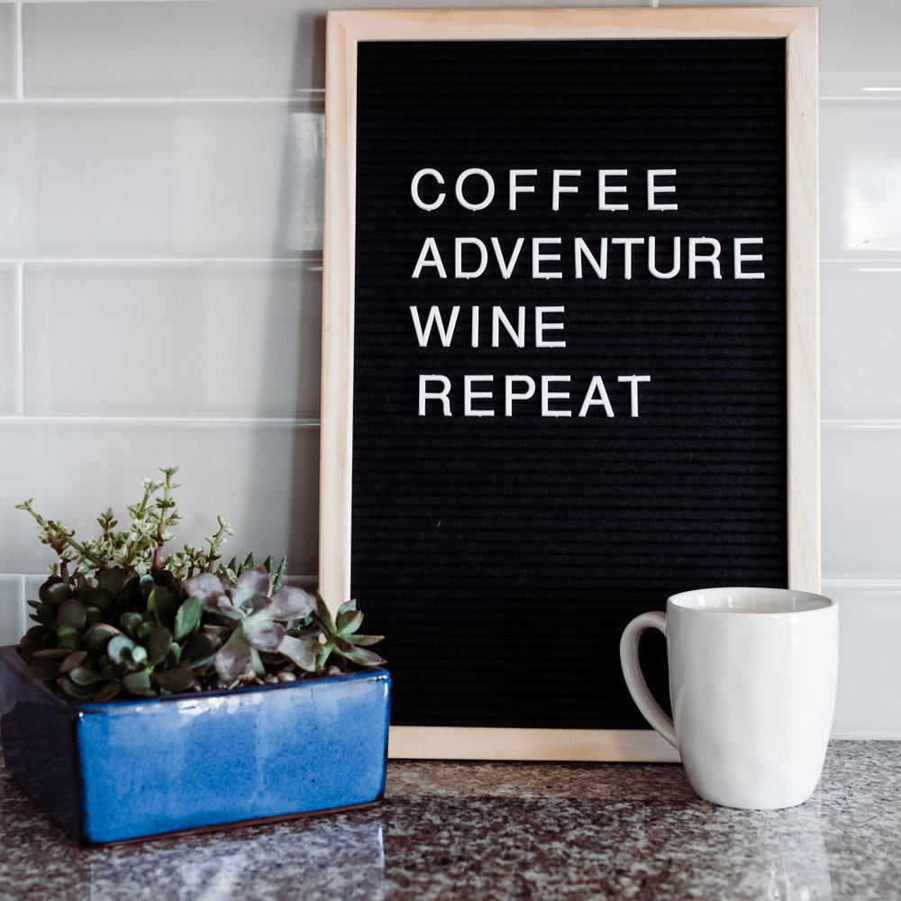 coffee - I have 5 kids. Coffee is my lifeline. My husband makes me coffee every morning and doesn't say more than two words to me until after I've had a little coffee. #basic