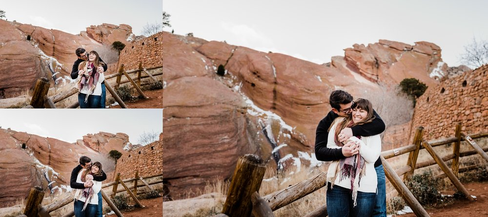 unposed-engagement-photography, ridiculously-in-love-photography, red-rocks-winter, denver-wedding-photographer