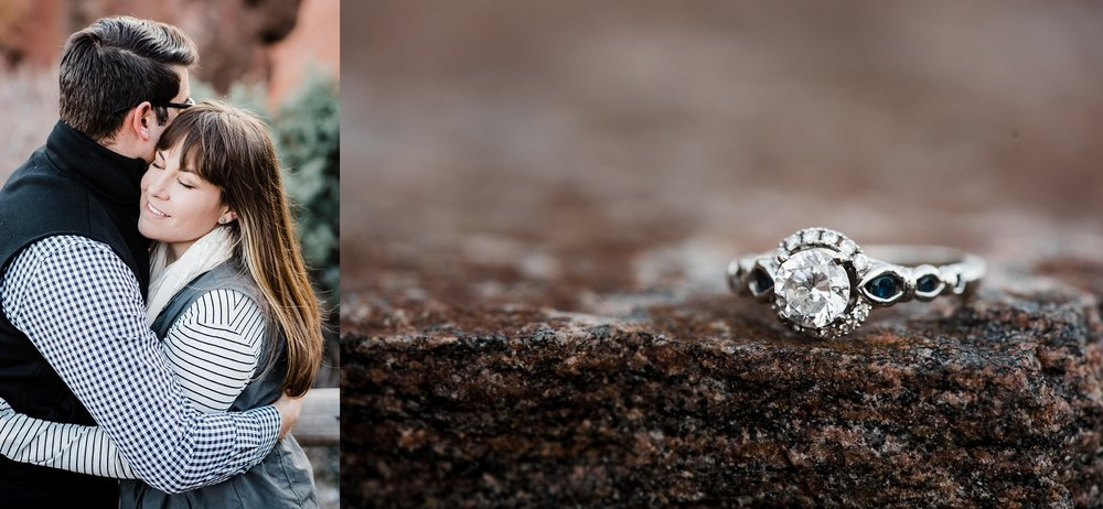ring-shot, engagement-ring-sapphires, denver-wedding-photographer
