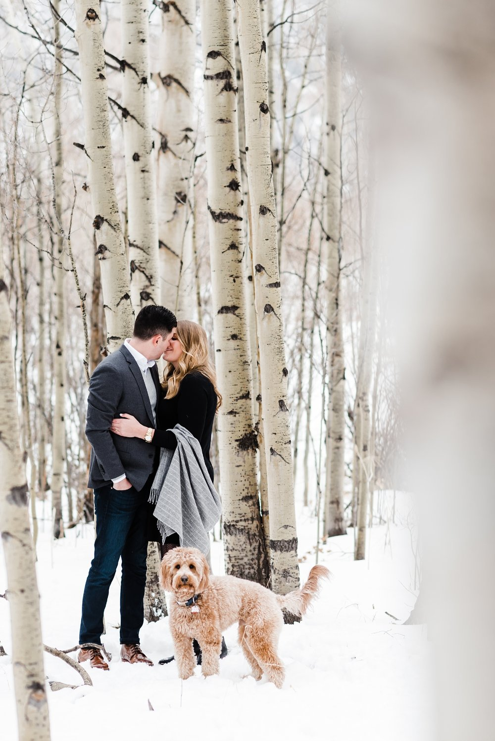 dogs-in-engagement-sessions, colorado-mountain-wedding-photographer