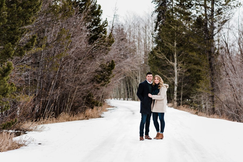 winter-mountain-engagement-session, denver-colorado-wedding-photographer