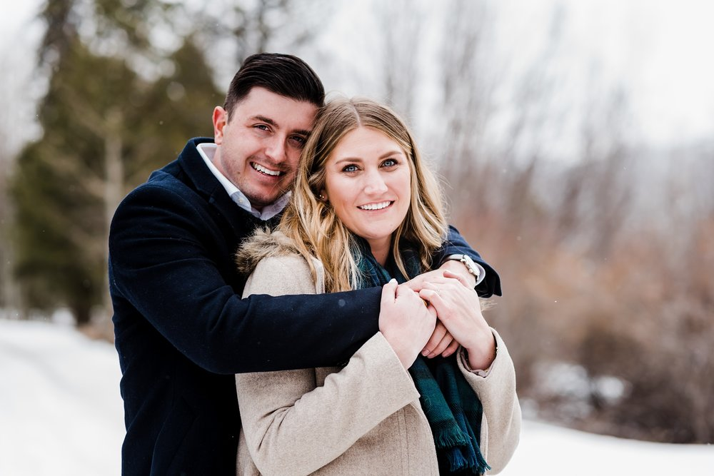 denver-wedding-photographer, winter-engagement-session