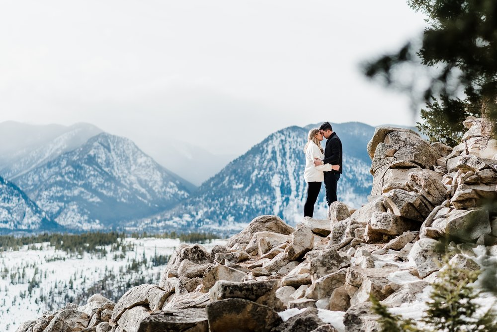 sapphire-point-engagement, mountain-views, lake-dillon-colorado, denver-wedding-photographer