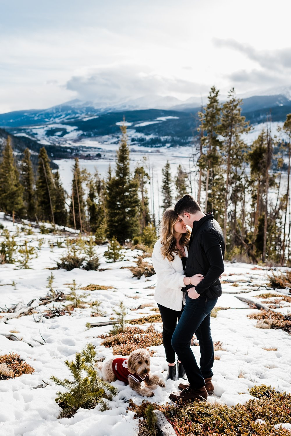 lake-dillon-engagement-session, denver-colorado-wedding-photography