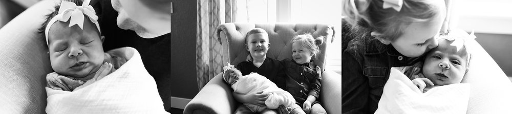 proud-siblings, big-brother, big-sister, baby-girl, denver-in-home-newborn-lifestyle-session