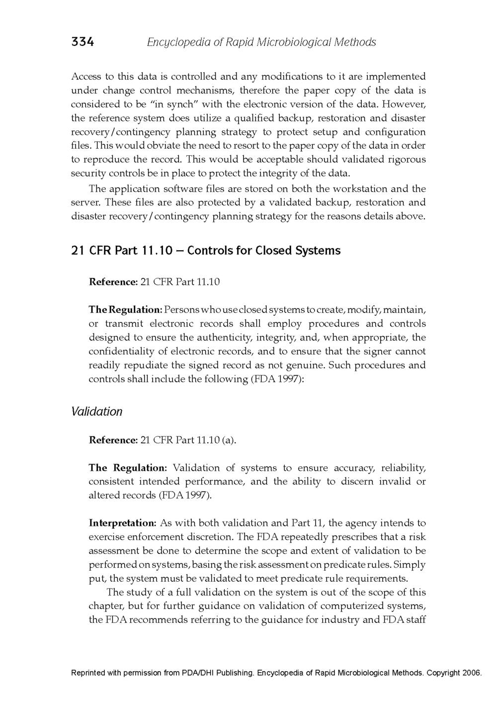 21 CFR Part 11 - Case Study Published in the Encyclopedia of Rapid Microbiological Methods - Volume 1, DHI Publishing_Page_12.png