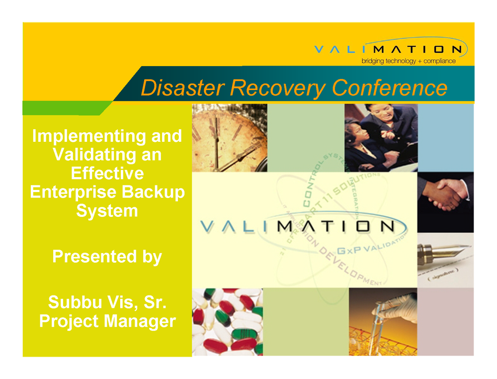 Validating an Enterprise Backup System by ValiMation_Page_01.png