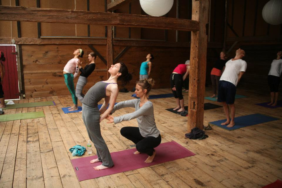 Yoga at Race Brook Lodge