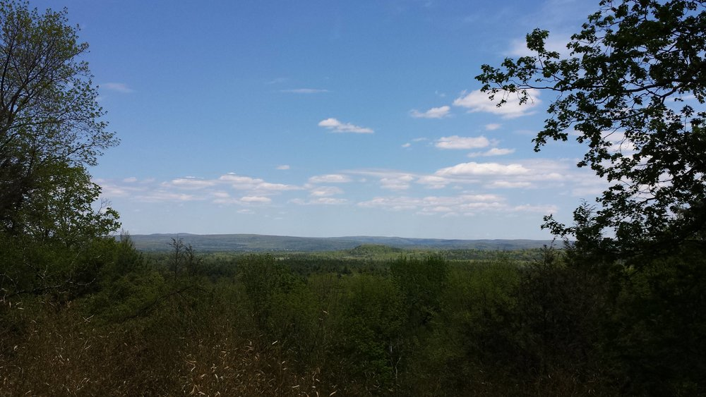 View of Sheffield Massachusetts from Race Mountain House