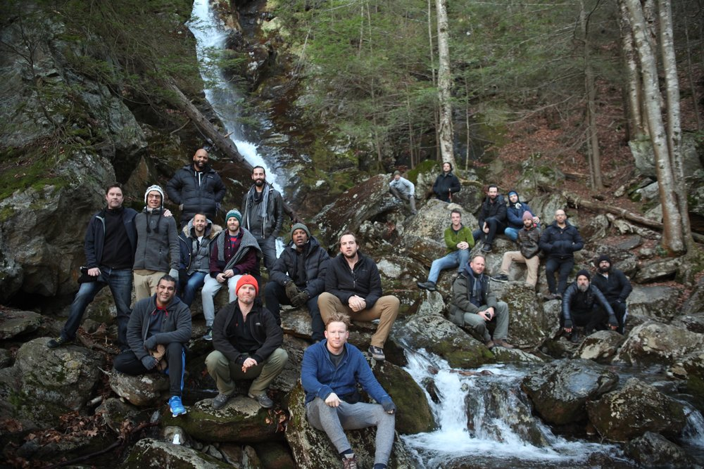 The Open Source Mens Group at Race Falls, December 4th 2016