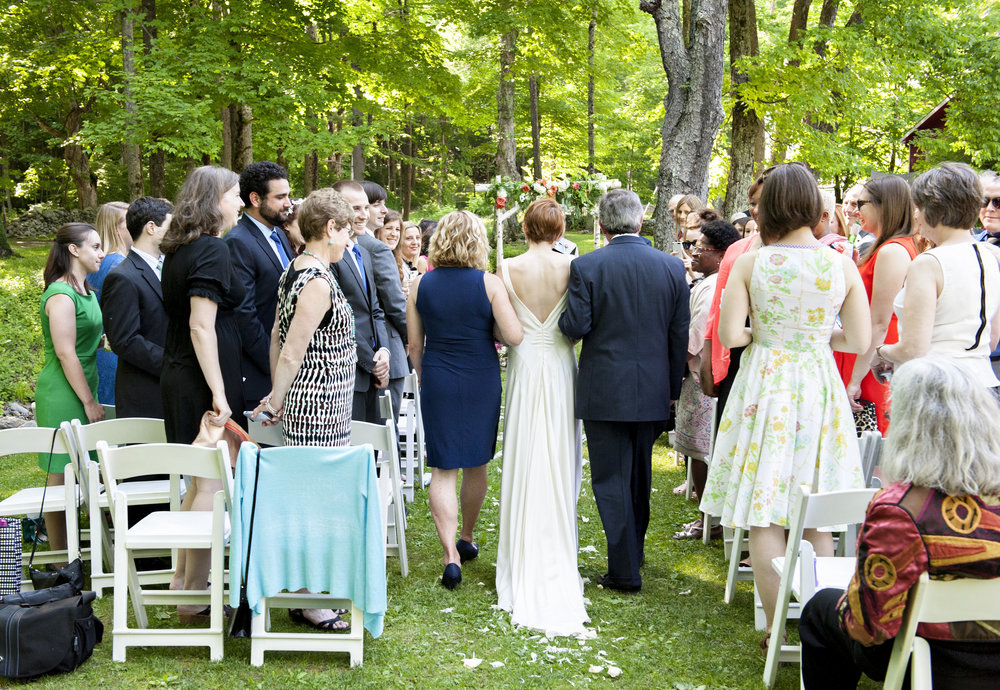 Ceremony by the Brook