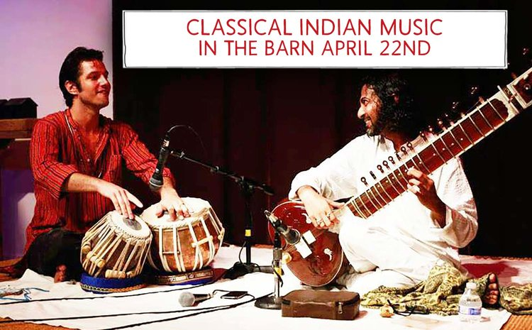 Classical Indian Music In The Barn Race Brook Lodge