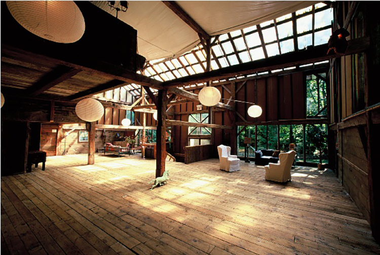 Interior of Barnspace