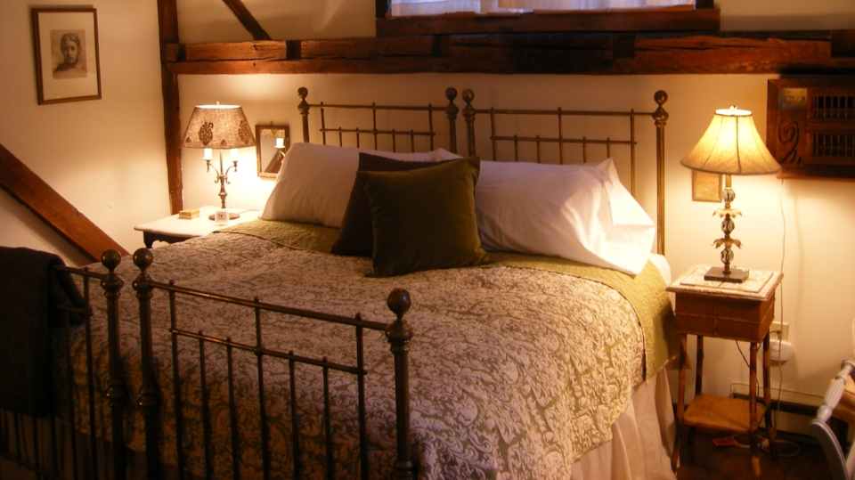 Get a peaceful night sleep in one of our Rustic Cozy Rooms