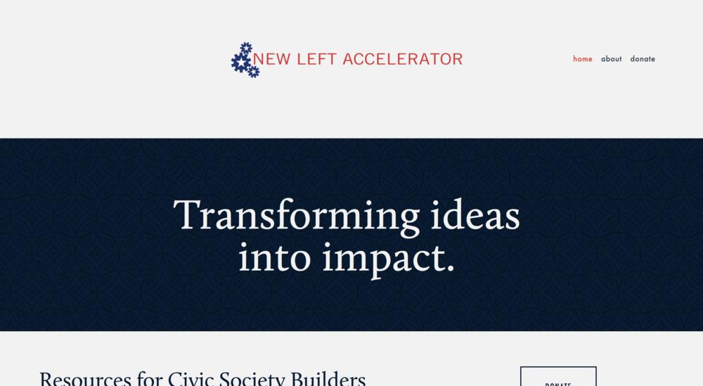 Website for New Left Accelerator