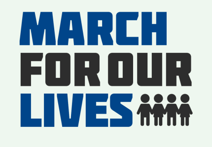 The March For Our Lives logo.