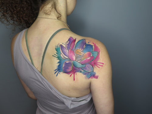Chicago Watercolor Tattoo Artist || Nathan Galman — Nathan Galman ...