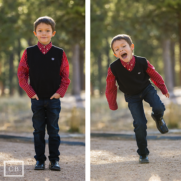 """Smiling shot, and """"crazy ant attack"""" shot."""