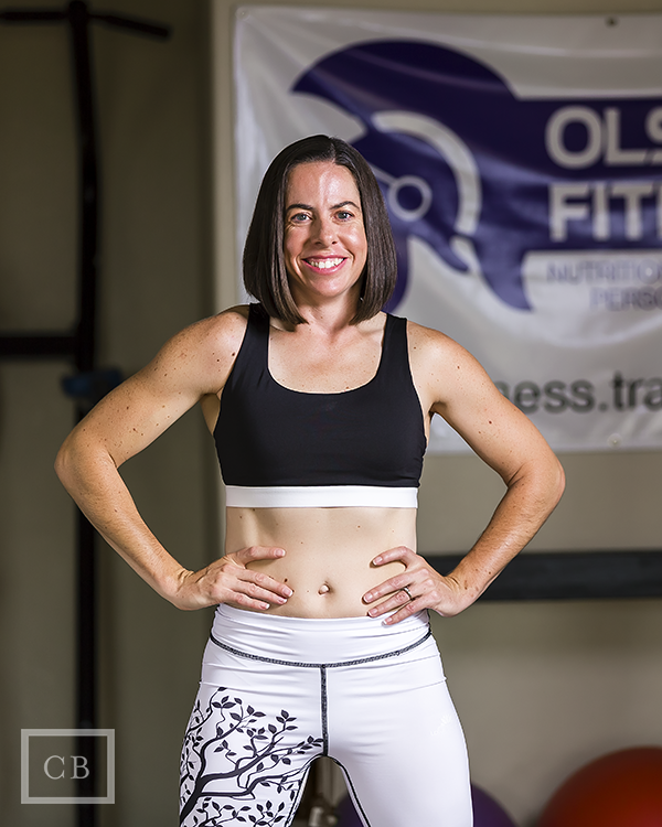 """My goal is to help you reach your goals!"" - Lisa Olsson, Owner of Olsson Fitness"