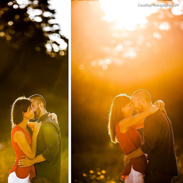 Engagement session at at sunset 🌅 are what it is all about!! 😍😍 #perfectlight