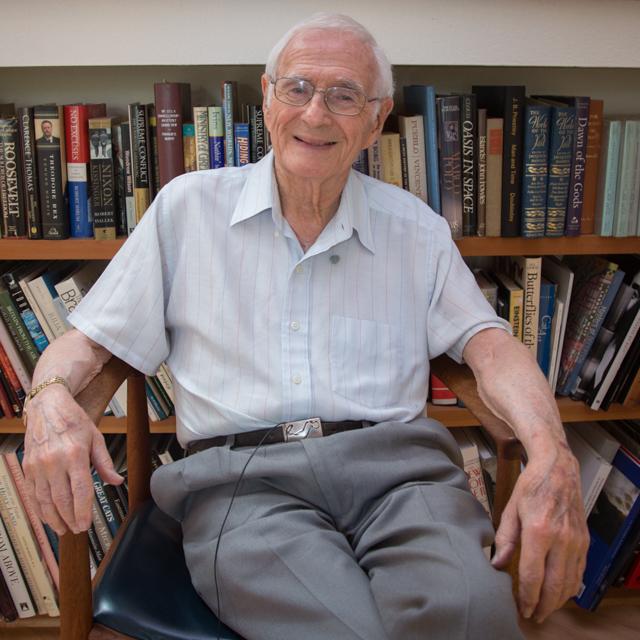 Bob Sinsheimer, age 90
