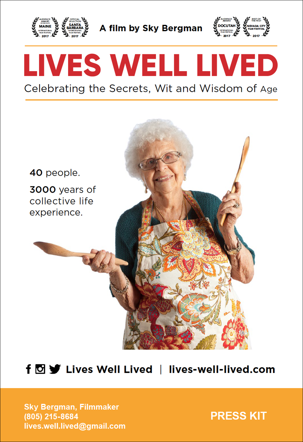 Download the Lives Well Lived Press Kit