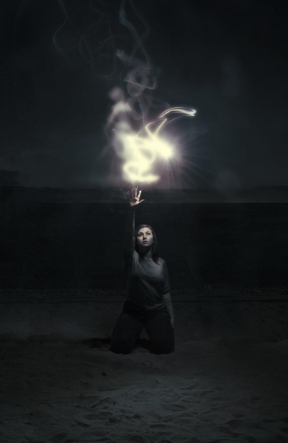 """Fairy-light""  Photo composite March 2017"