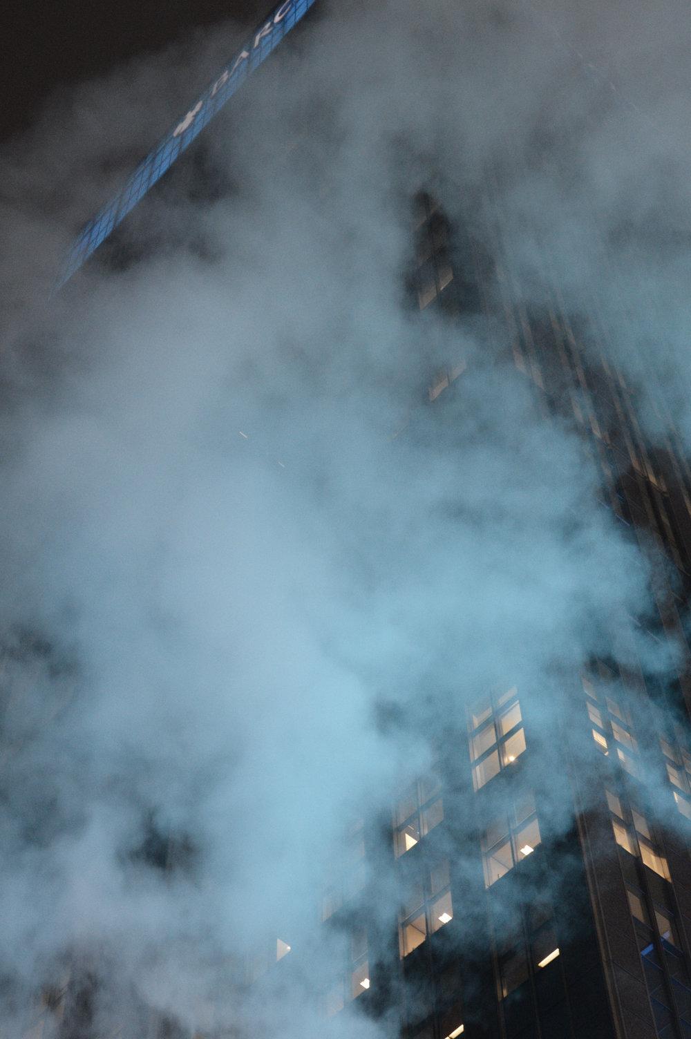 """""""Building of Fog""""  Manhatten, NY Photo edit June 2017"""