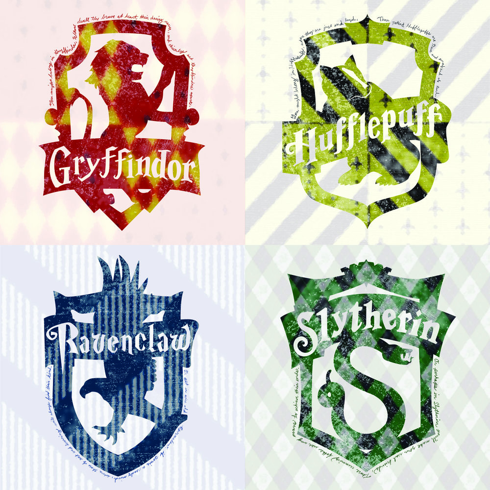 Harry Potter: All House Crests