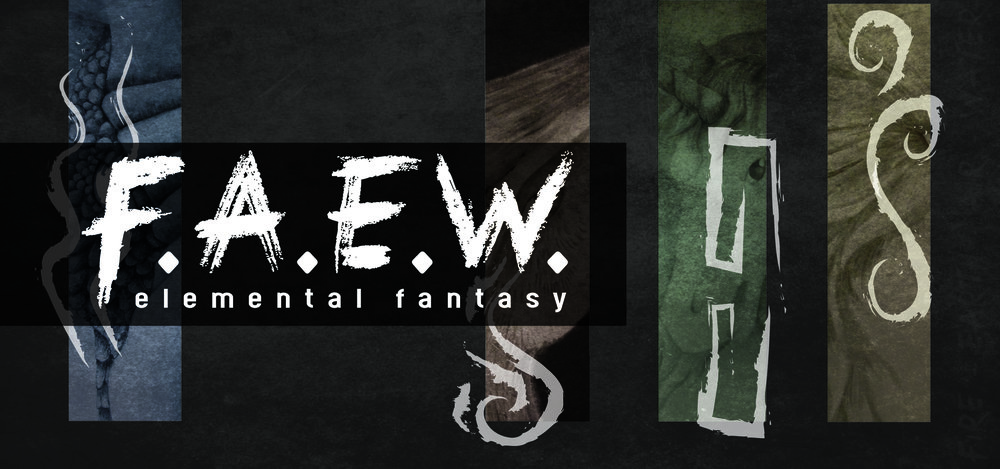 "Banner for ""F.A.E.W."" art gallery  April-May 2017"