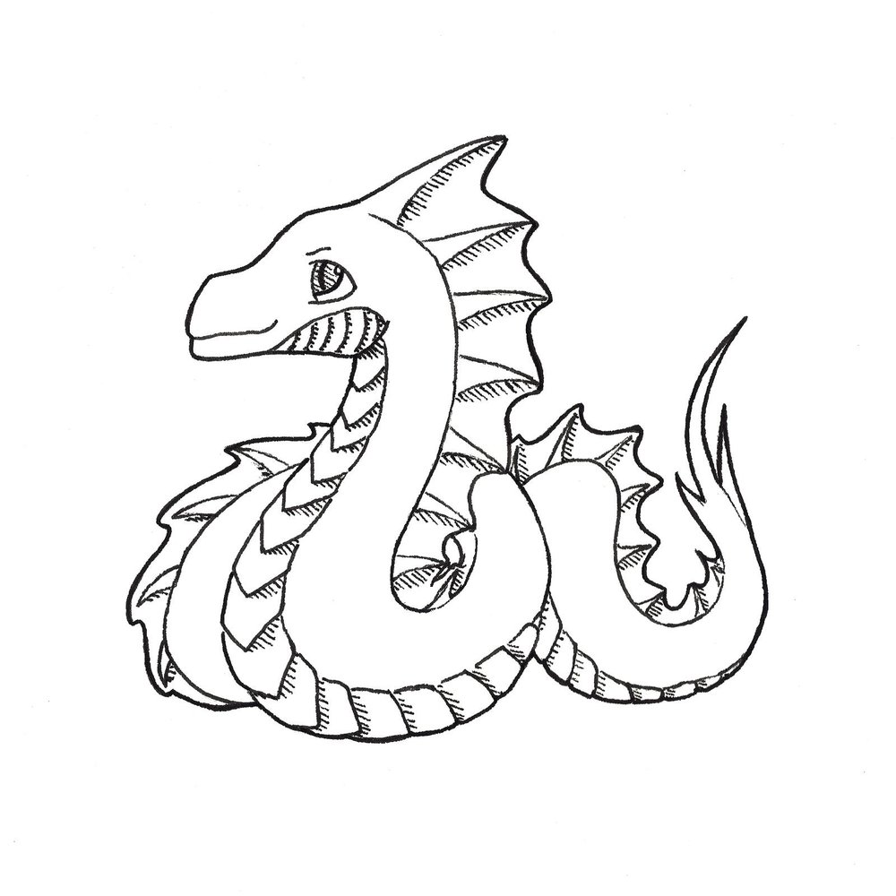 "Day 1 - ""Poisonous : Basilisk"""