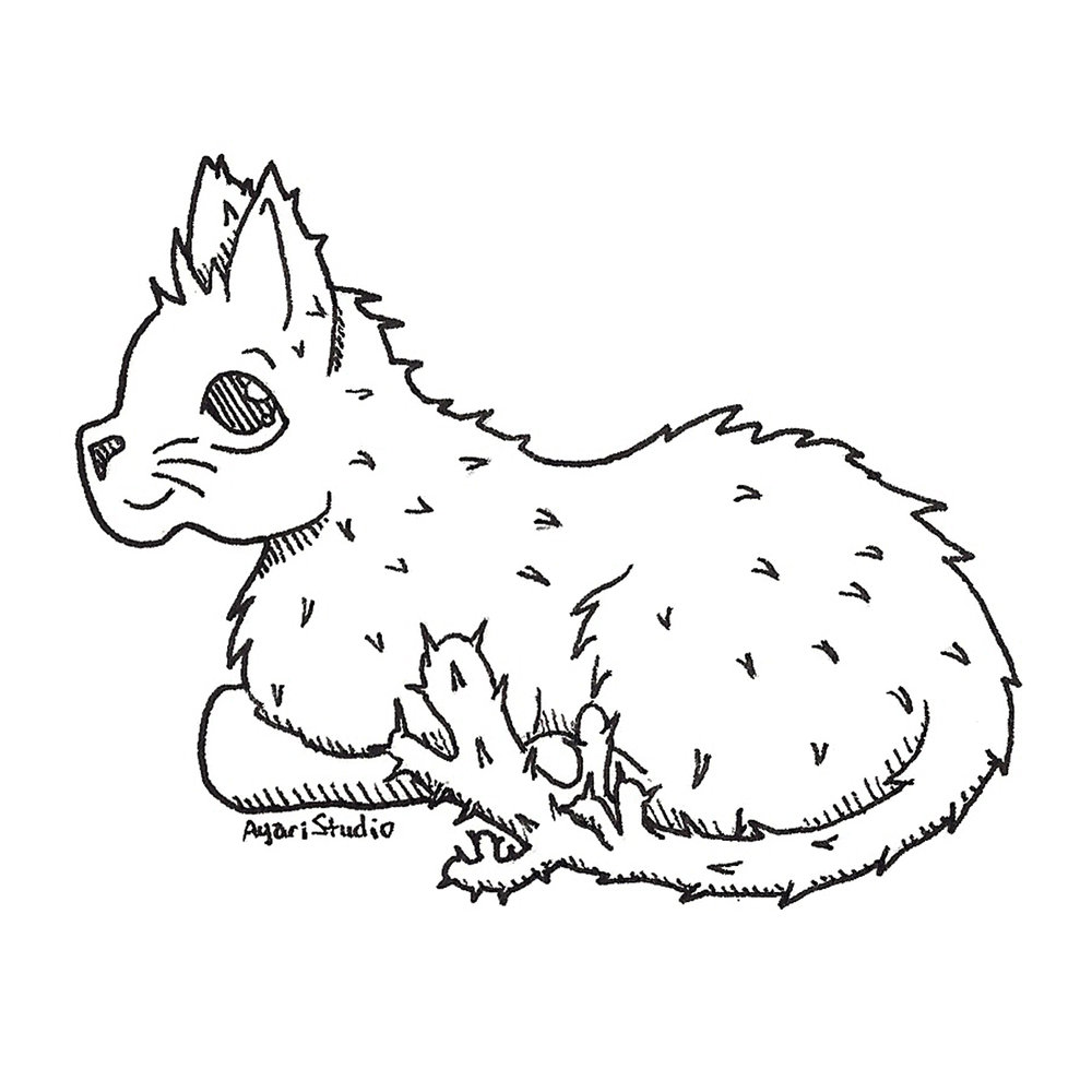 "Day 25 - ""Prickly : Cactus Cat"""