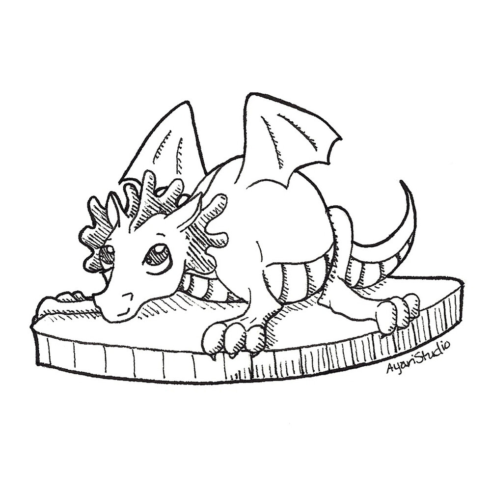 "Day 22.b - ""Expensive : Coin Fairy Dragon"""