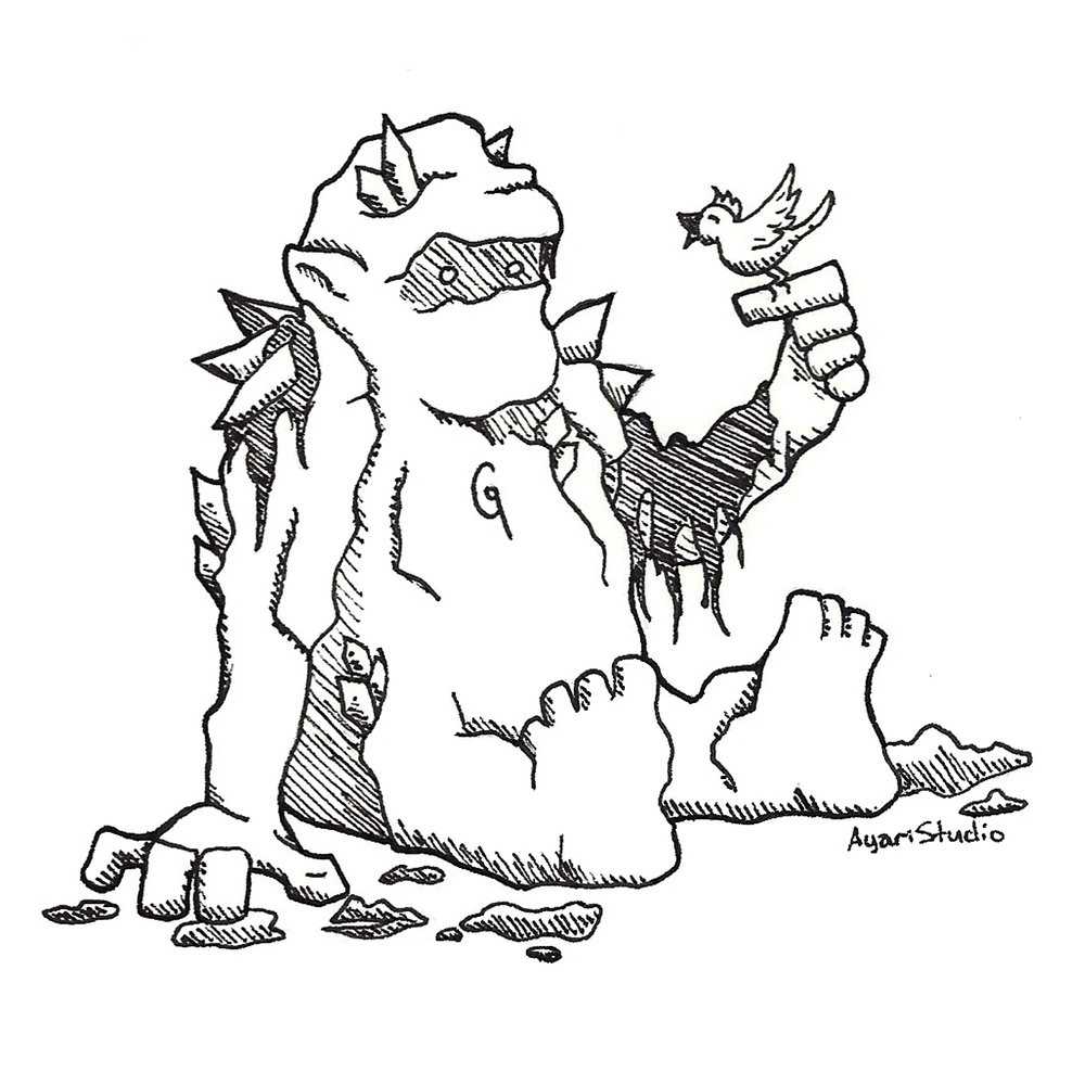 "Day 23 - ""Muddy : Golem"""
