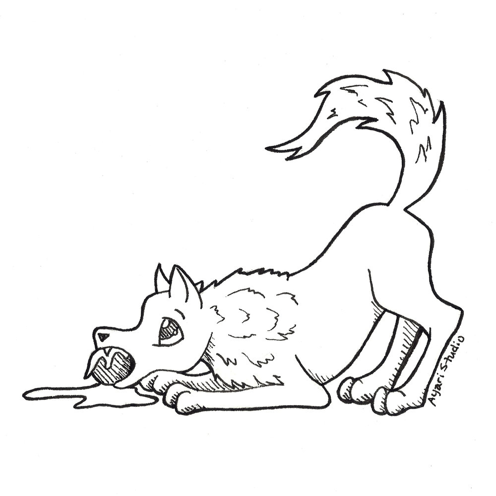 """Day 6 - """"Drooling : Hellhound"""""""