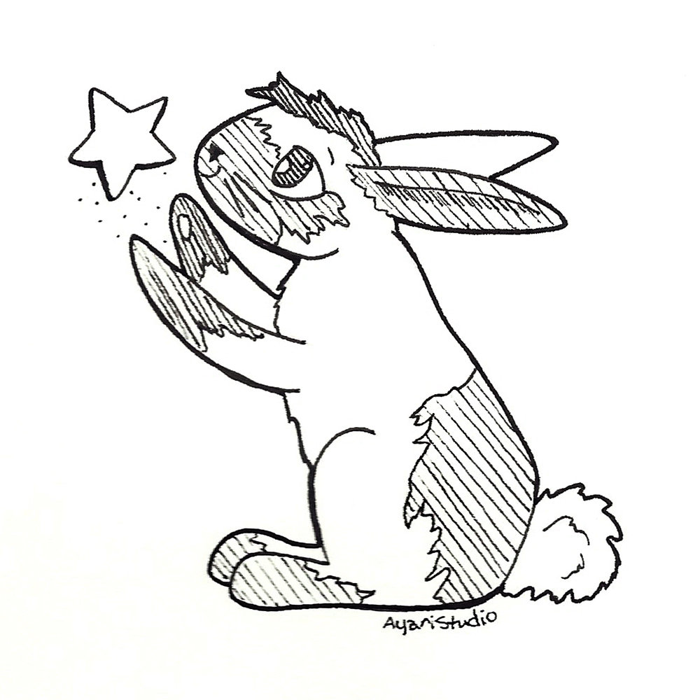 "Day 8 - ""Star : Moon Rabbit"""