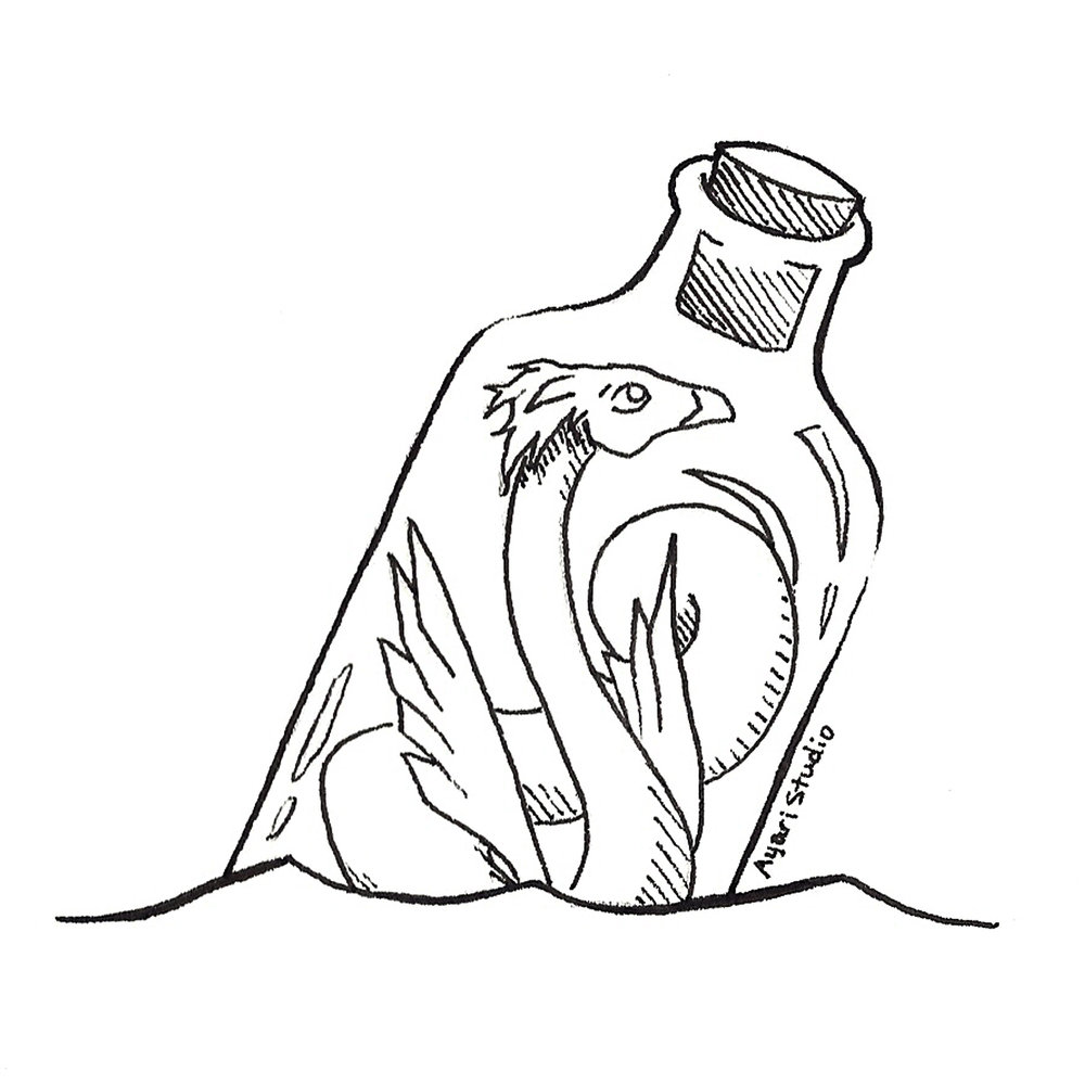 "Day 18 - ""Bottle : Occamy"""