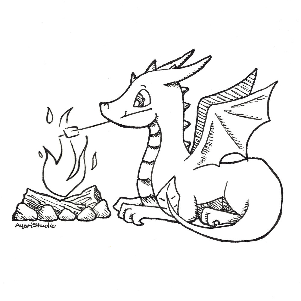 "Day 3 - ""Scorched : Western Dragon"""