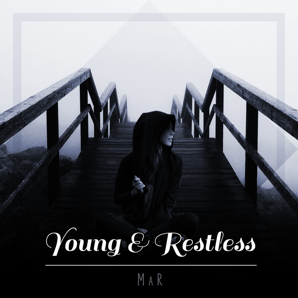 """Young & Restless""  December 2018  Album cover for digital platforms"