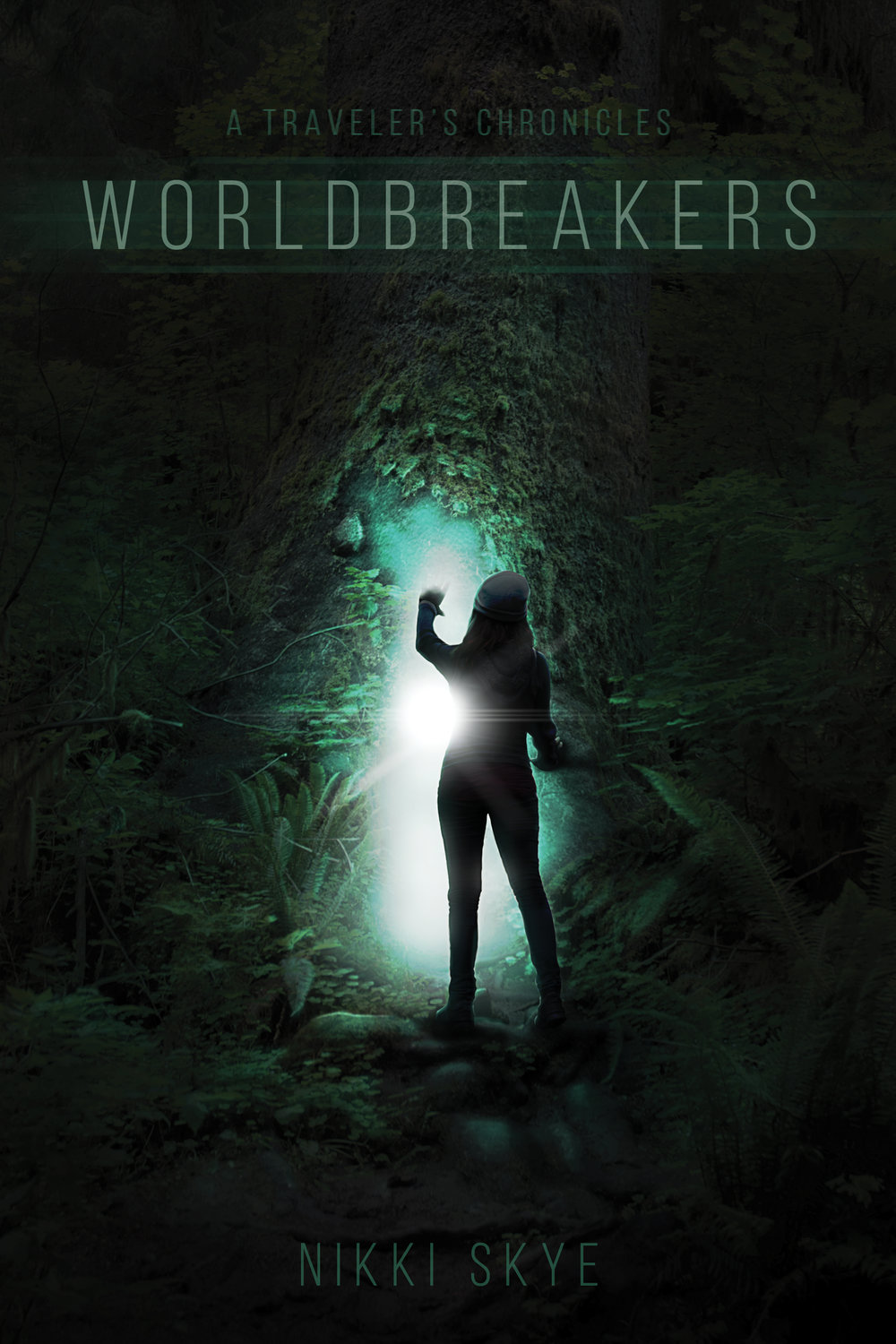 """A Traveler's Chronicles : Worldbreakers"" December 2018  Book cover art"