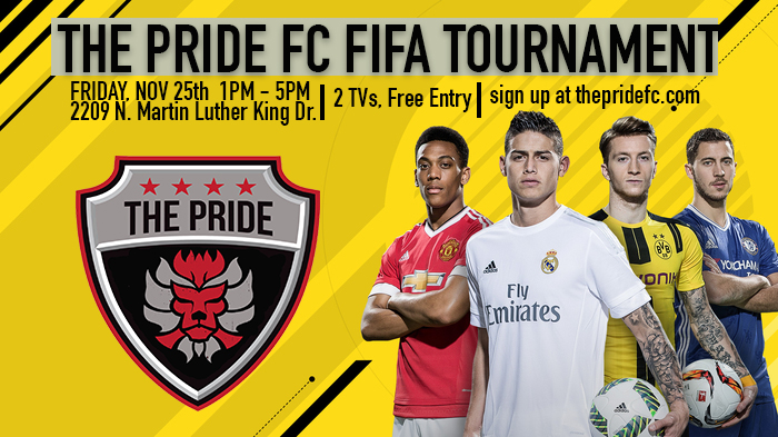 the pride fc holiday fifa tournament